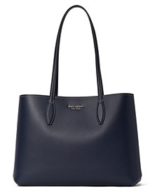 All Day Large Leather Tote