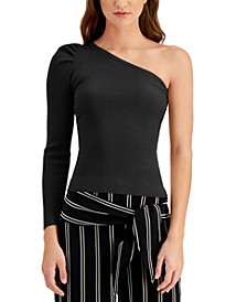 One-Shoulder Sweater, Created for Macy's