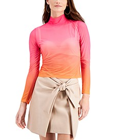 Ombré Mesh Top, Created for Macy's