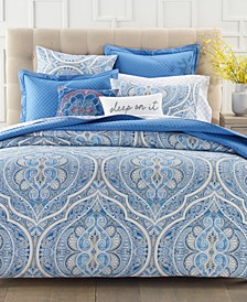 Amara Paisley 2-Pc. Twin Duvet Set, Created for Macy's