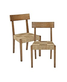 Closeout Noah Dining Chair, Set of 2