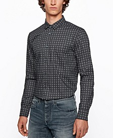 BOSS Men's Magneton Slim-Fit Shirt