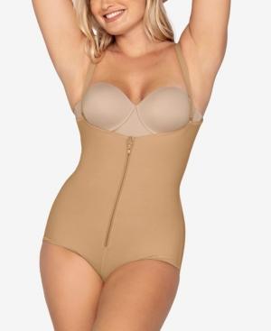 Women's Firm Tummy-Control Wyob Power Slim Faja Bodysuit Shaper 018478