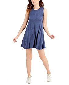 Plus Size Heathered Flip-Flop Dress, Created for Macy's