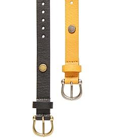 2-Pk. Single-Prong Belts