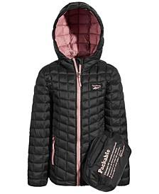 Big Girls Glacier Shield Packable Jacket