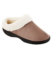 Isotoner Woman's Microsuede Marla Hoodback Comfort Slippers