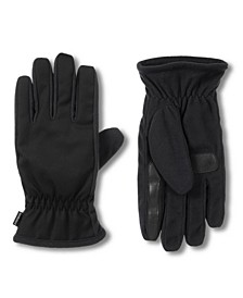 Isotoner Men's Water Repellent Touchscreen Gloves