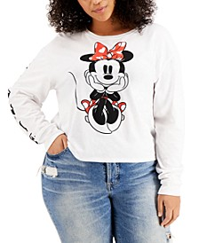 Trendy Plus Minnie Mouse Long-Sleeve T-Shirt