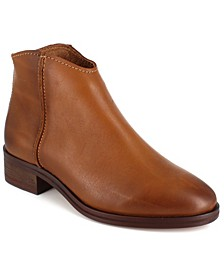 Women's Georgie Leather Ankle Booties