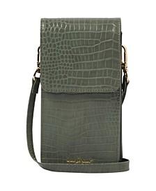 Women's Crocodile Phone Wallet