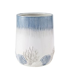 Abstract Coastal Wastebasket