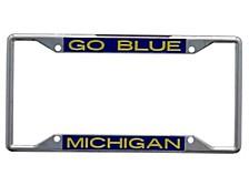 Michigan Wolverines Laser Frame