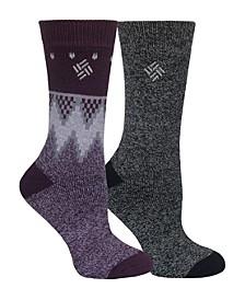 Women's Thermal 2pk Crew Socks