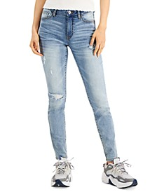Juniors' Distressed Skinny Jeans