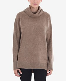 Women's Roll Neck Pullover Sweater