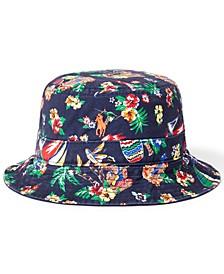 Men's Polo Bear Cotton Chino Bucket Hat