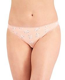 Women's Pretty Cotton Bikini Underwear, Created for Macy's