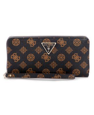 Sandrine Large Zip Around Wallet Wristlet