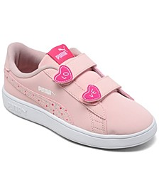Little Girls Smash v2 Candy Stay-Put Closure Casual Sneakers from Finish Line