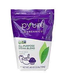 Organic Stevia All-purpose Granular Sweetener Blend, 40 oz