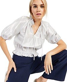 INC Metallic Blouse, Created for Macy's