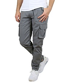Men's Cotton Flex Stretch Classic Cargo Pants
