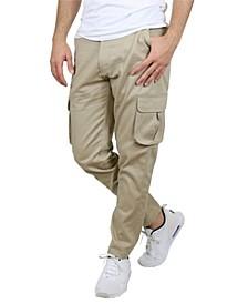 Men's Cotton Flex Stretch Classic Cargo Pants
