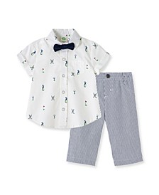 Baby Boys Golf Pant Set