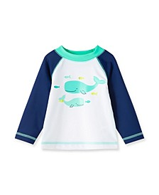 Baby Boys Whale Long Sleeve Rashguard
