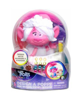 Trolls World Tour Design a Poppy Figure Craft Kit
