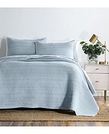 Venecia 3 Piece Coverlet Set, Queen