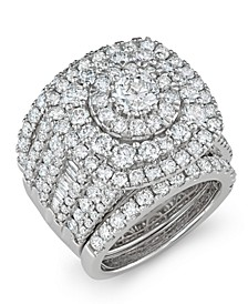 Diamond Bridal Set (5 5/8 ct. t.w.) in 14k White Gold