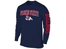 Men's Fresno State Bulldogs Midsize Slogan Long-Sleeve T-Shirt