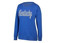 Kentucky Wildcats Women's Glitter Sweatshirt