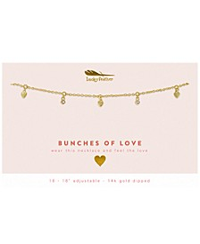 Bunches of Love 14K Gold-Plated Necklace