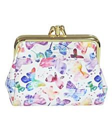 Women's Soft Butterfly Pik-Me-Up Triple Frame Wallet