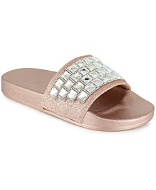 Women's Flashie Studs Slide Sandals