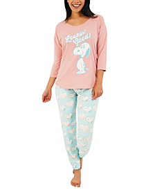 Snoopy Looking Good Pajama Set