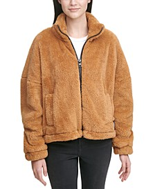 Sherpa Zip-Up Jacket