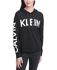 Logo-Print Hooded Sweatshirt