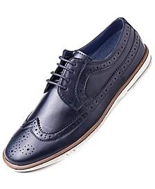 Men's Casual Wingtip Oxford Dress Shoes