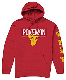 Big Boys Pokemon Hooded Fleece Hoody