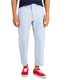 Men's Skater-Fit Railroad Stripe Jeans, Created for Macy's