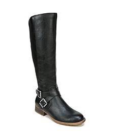 Xion Wide Calf High Shaft Boots