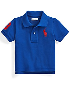 Ralph Lauren Baby Boys Classic Fit Cotton Mesh Polo