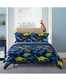 Dino 2-Piece Comforter Set, Twin