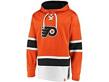 Philadelphia Flyers Men's Power Play Lace Up Hoodie