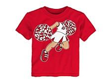Toddler Ohio State Buckeyes Pom Pom T-Shirt