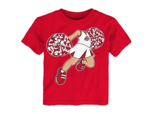OUTERSTUFF TODDLER OHIO STATE BUCKEYES POM POM T-SHIRT